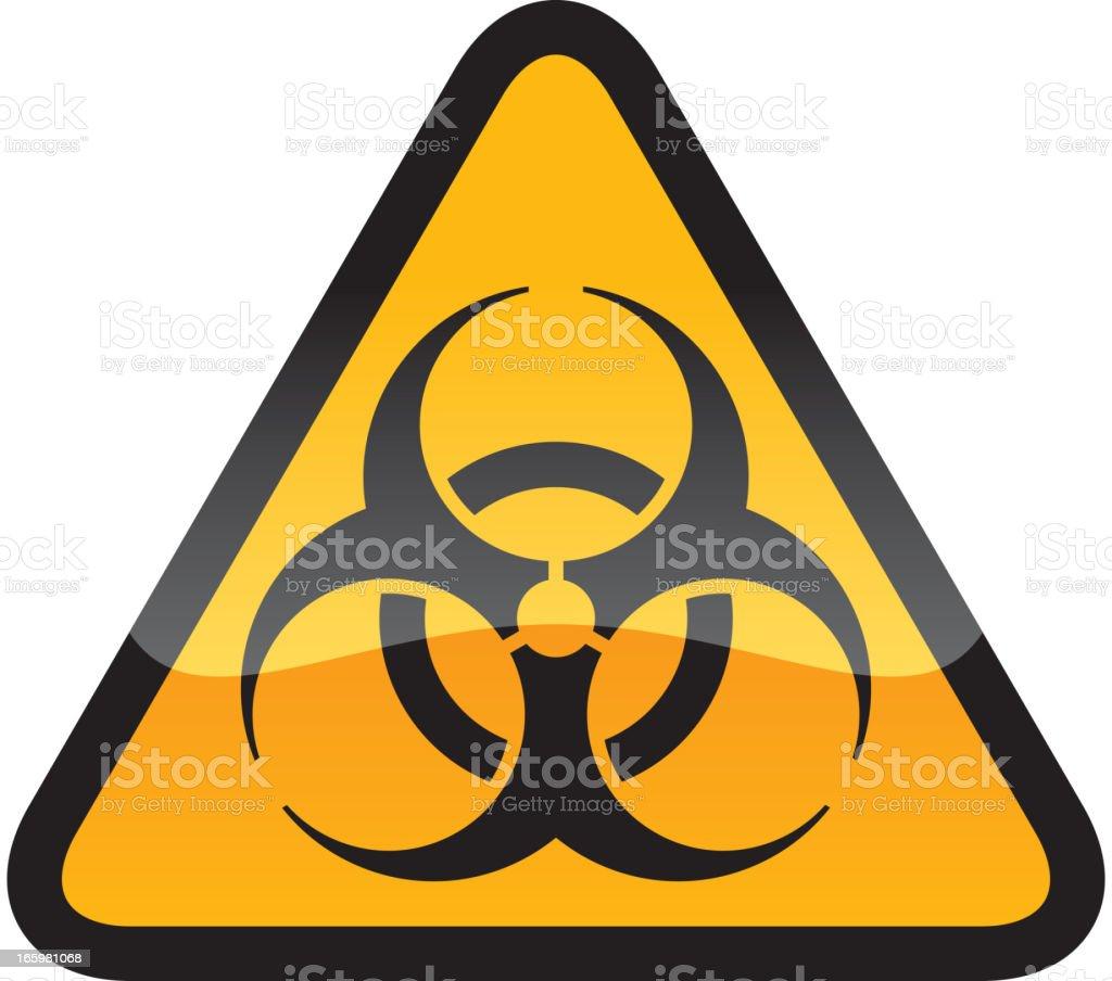 Biohazard Symbol vector art illustration