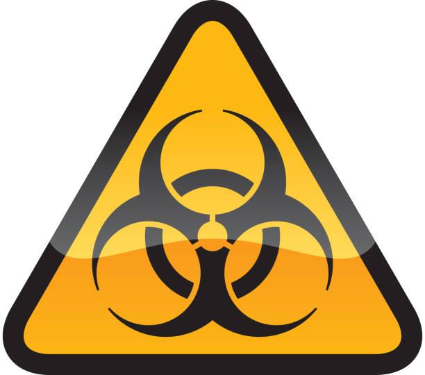 Biohazard Symbol Biohazard Symbol biohazard symbol stock illustrations
