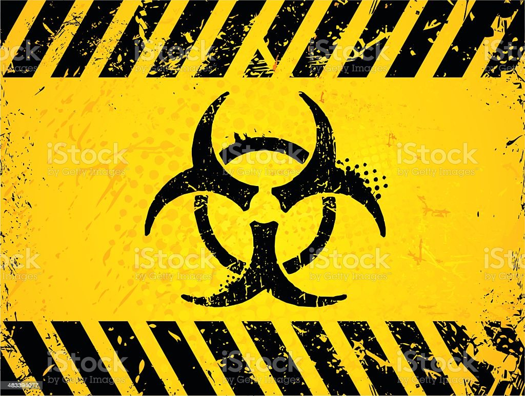 Biohazard Symbol Stock Vector Art More Images Of Abstract