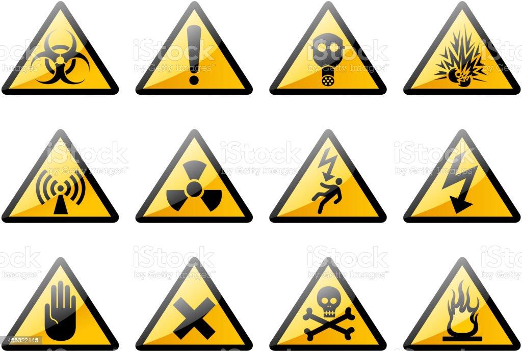 biohazard symbols royalty-free stock vector art