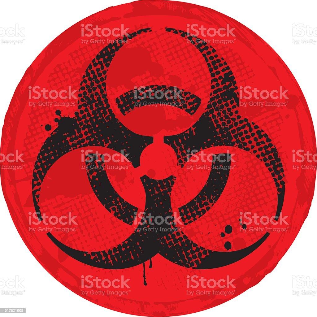 Biohazard vector art illustration
