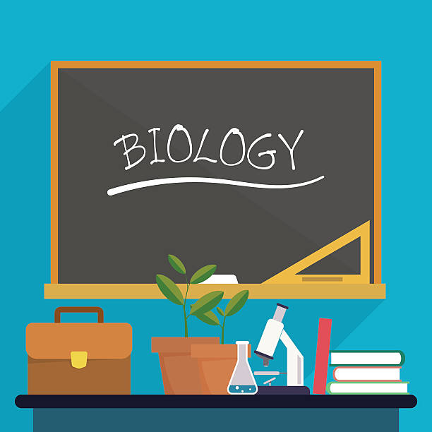Royalty Free Biology Classroom Clip Art, Vector Images