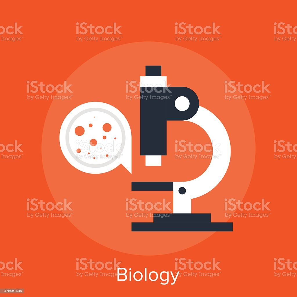 biology vector art illustration