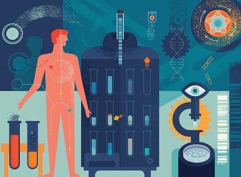 Biomedicine Concept