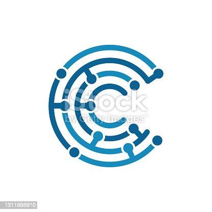 Biometric Technology Letter of C Design.