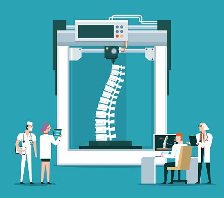 Bioprinter concept - Human Spine