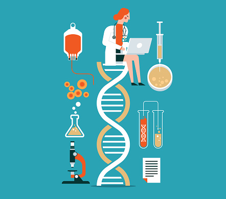 Biotechnology - female doctor