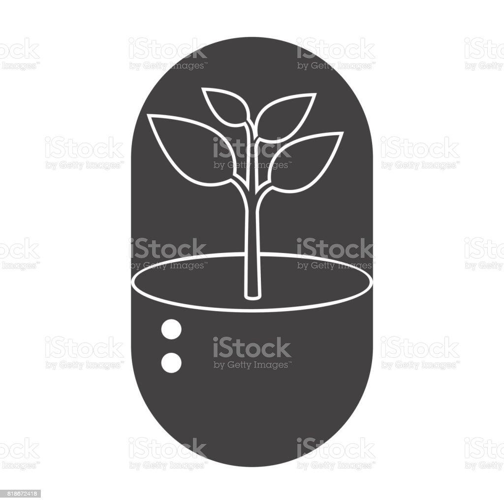 Biotechnology Vector Icon vector art illustration