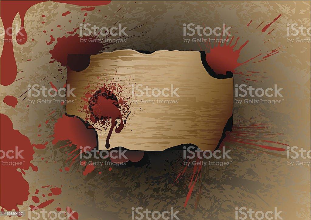 Birch bark royalty-free stock vector art