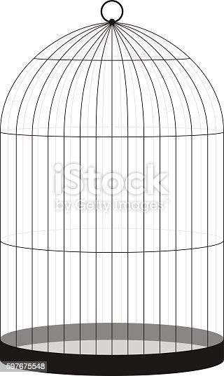 Bird Cage (EPS10)