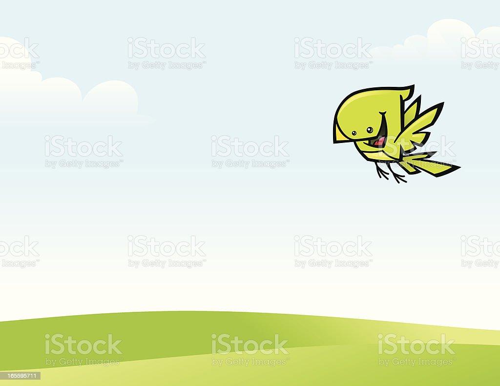 Pájaro volando ilustración de pájaro volando y más banco de imágenes de ala de animal libre de derechos