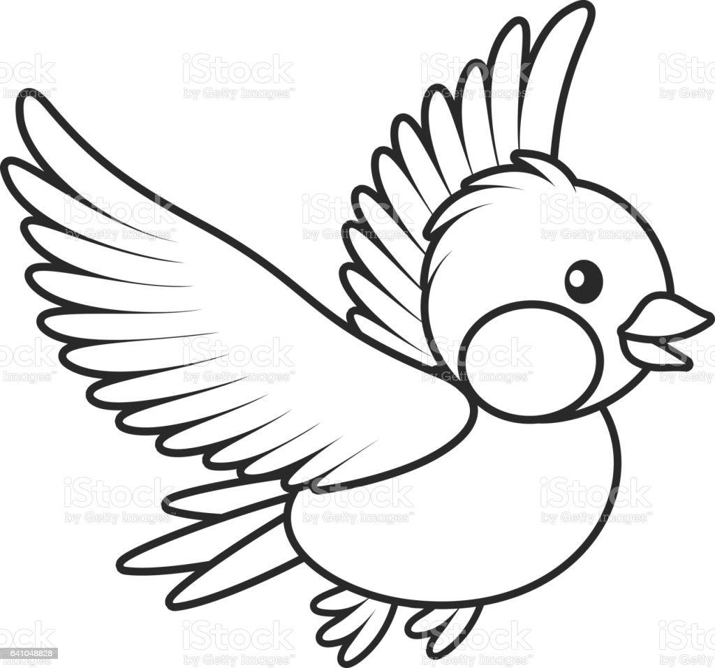 bird flying stock vector art amp more images of birdie