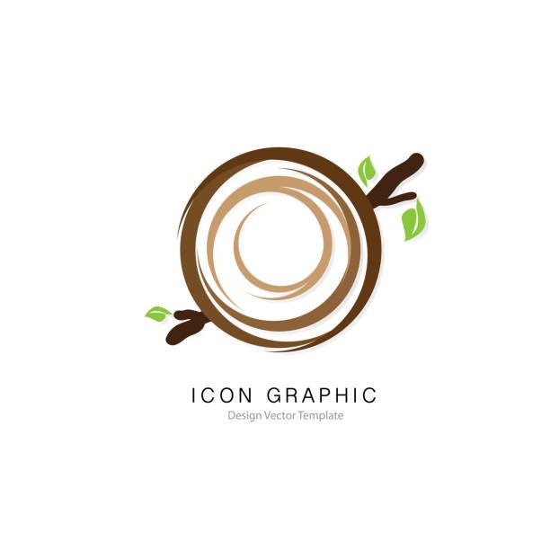 bildbanksillustrationer, clip art samt tecknat material och ikoner med fågel hus ikon symbol skylt grafisk vector mall designelement - bo