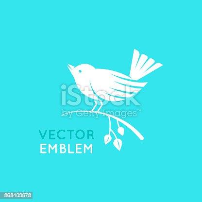 istock Bird icon template 868403678