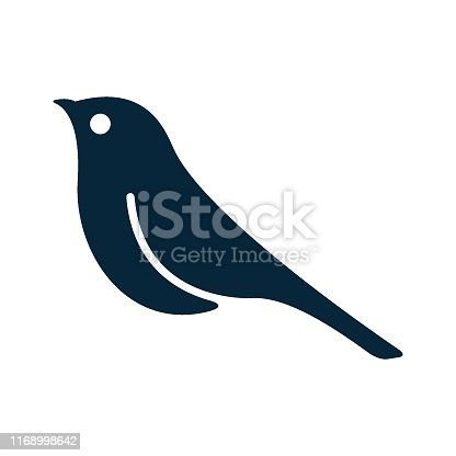 Bird, Icon, Cut Out, Logo, Animal