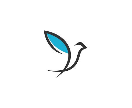 Oiseau Icône Vecteurs libres de droits et plus d'images vectorielles de Abstrait