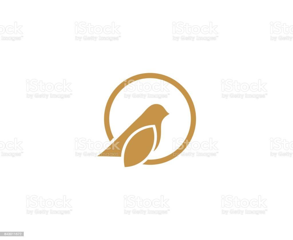 Oiseau icône - Illustration vectorielle