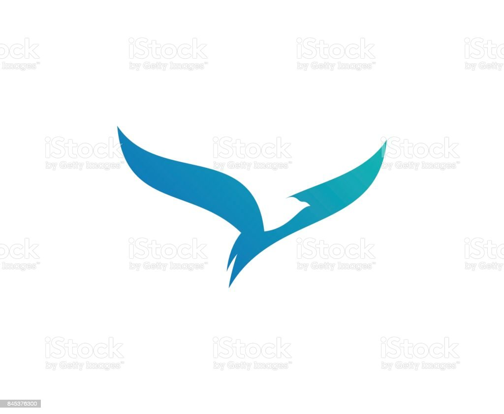 Bird icon vector art illustration