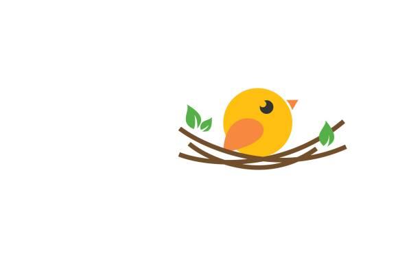bildbanksillustrationer, clip art samt tecknat material och ikoner med fågel-ikonen - bo