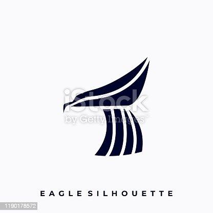 istock Bird Illustration Vector Template 1190178572