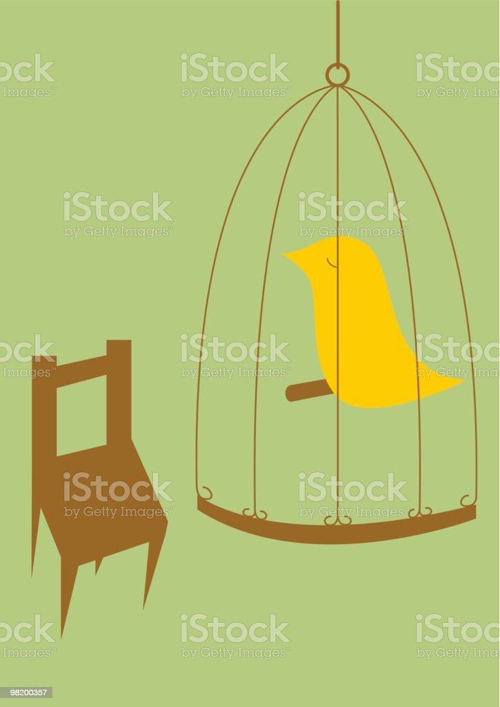 bird in cage royalty-free bird in cage stock vector art & more images of animal