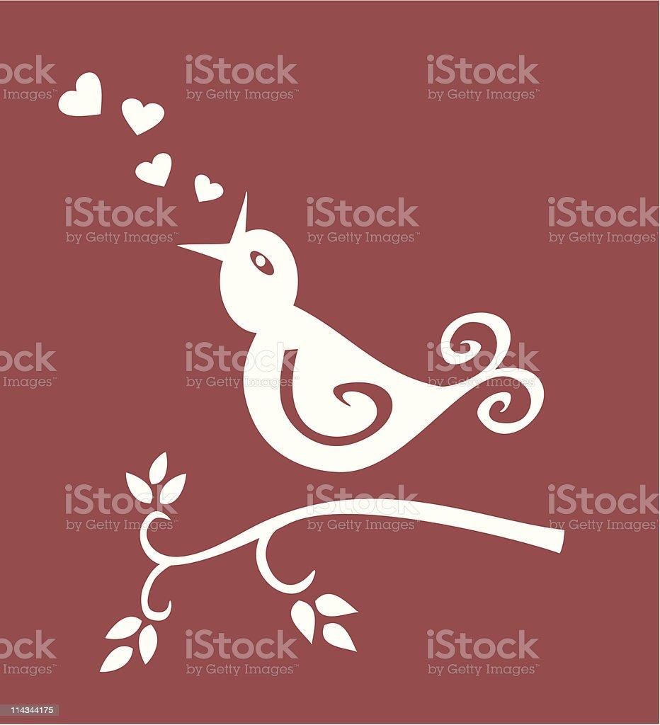 Bird in love royalty-free bird in love stock vector art & more images of bird