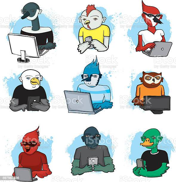 Bird people social media vector id597967836?b=1&k=6&m=597967836&s=612x612&h=qgf3hjg4q 584h3zbzq pioekfesar sczvt0fl8fww=