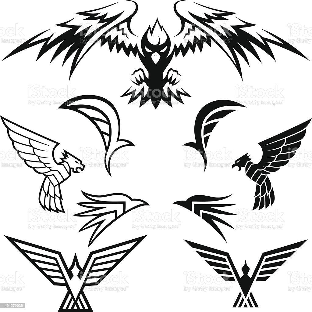 鳥のシンボル - イラストレーションのベクターアート素材や画像を多数ご