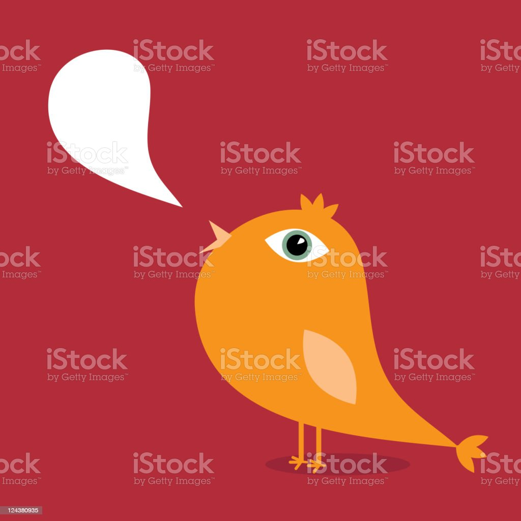 Bird royalty-free stock vector art