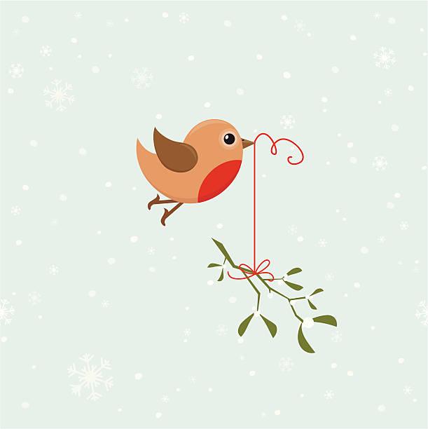 птица с омела - food delivery stock illustrations