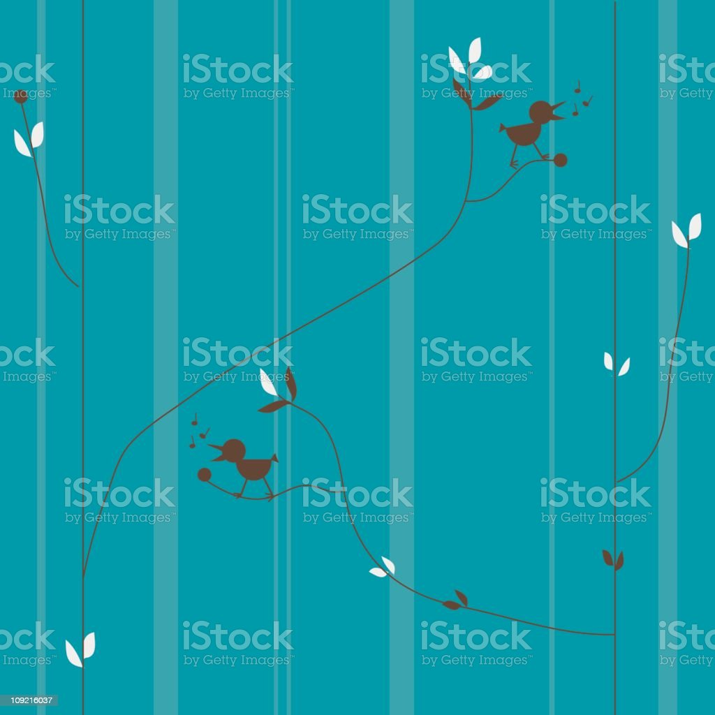 Birdies on branches royalty-free birdies on branches stock vector art & more images of backgrounds