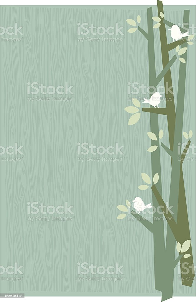 birds background royalty-free stock vector art