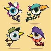 Birds eyes