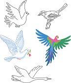 Birds set