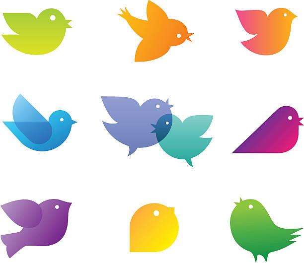 鳥 - 鳥点のイラスト素材/クリップアート素材/マンガ素材/アイコン素材
