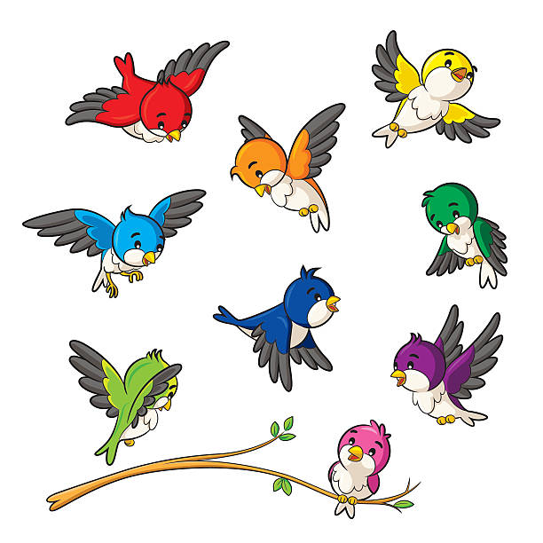 birds - birds stock illustrations