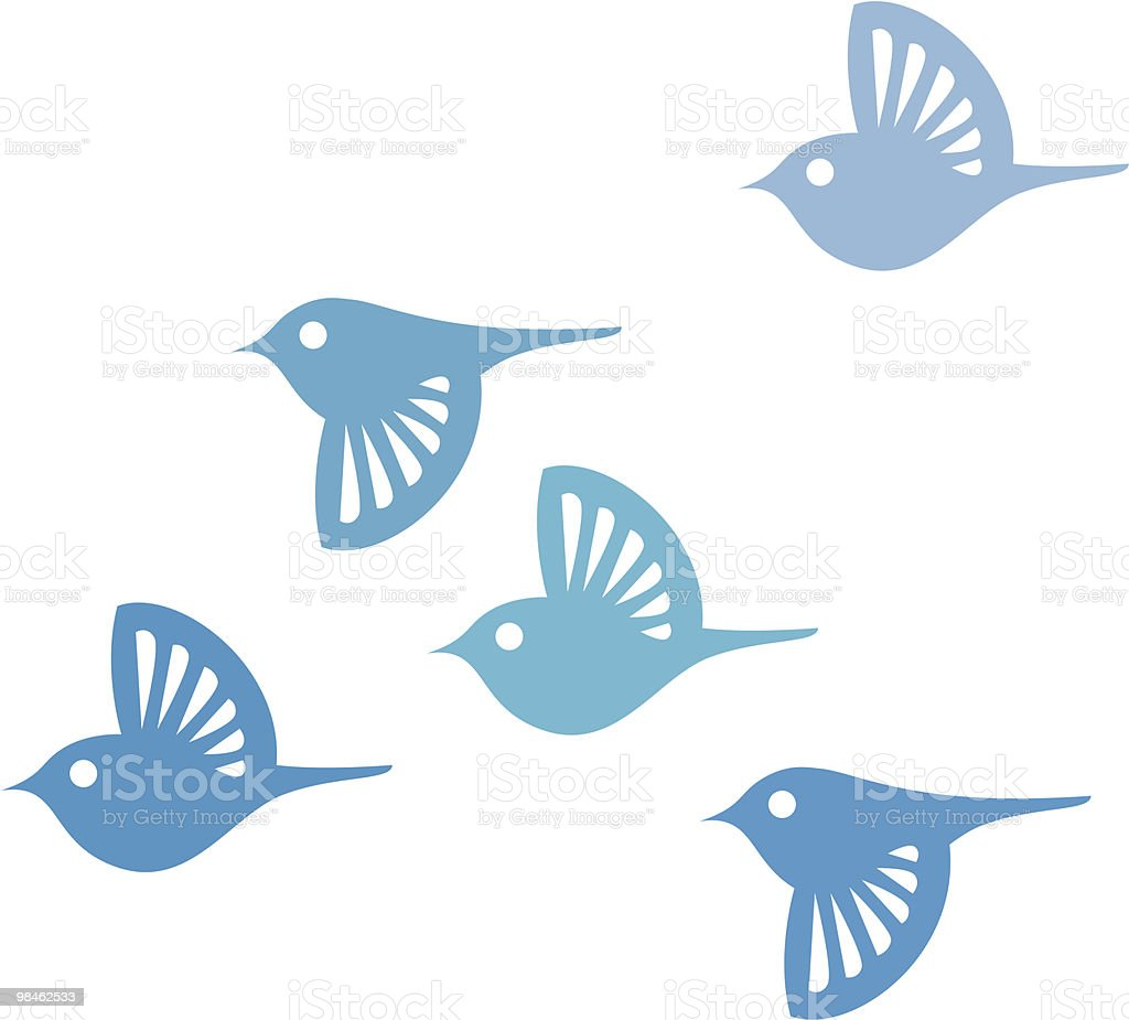 Birds royalty-free stock vector art