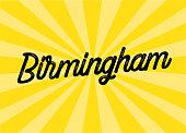 Birmingham Lettering Design