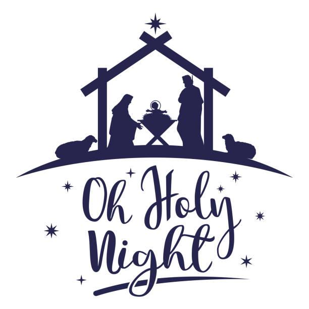 Nativity Silhouette Il...