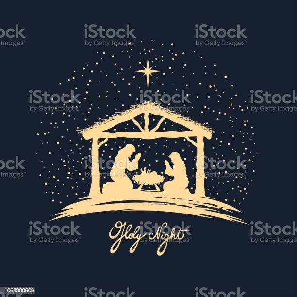 Naissance Du Christ Vecteurs libres de droits et plus d'images vectorielles de Adulte