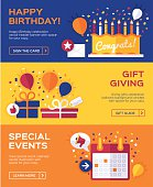 Birthday and Celebration Banners