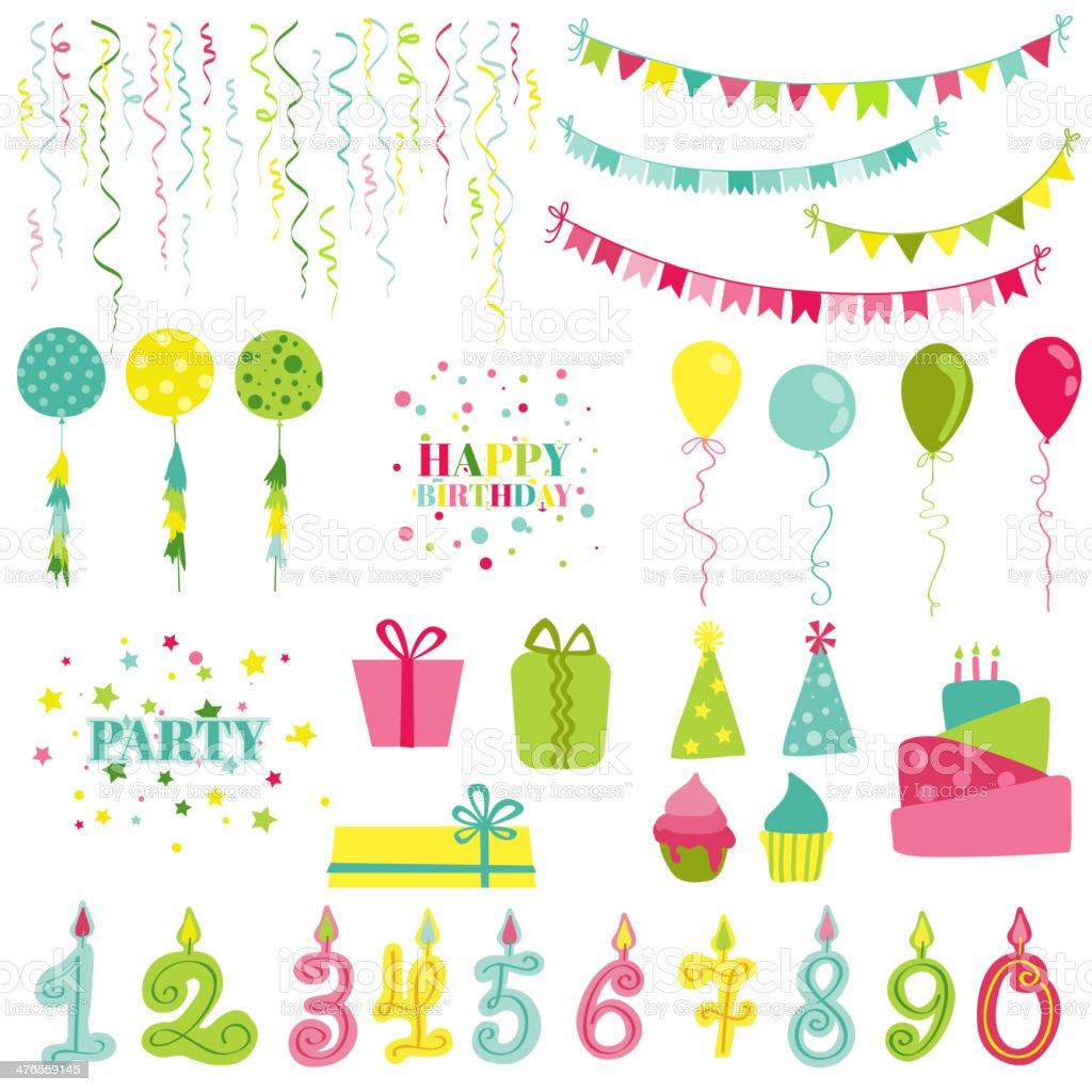 誕生日パーティーセットphotobooth スクラップブック設計