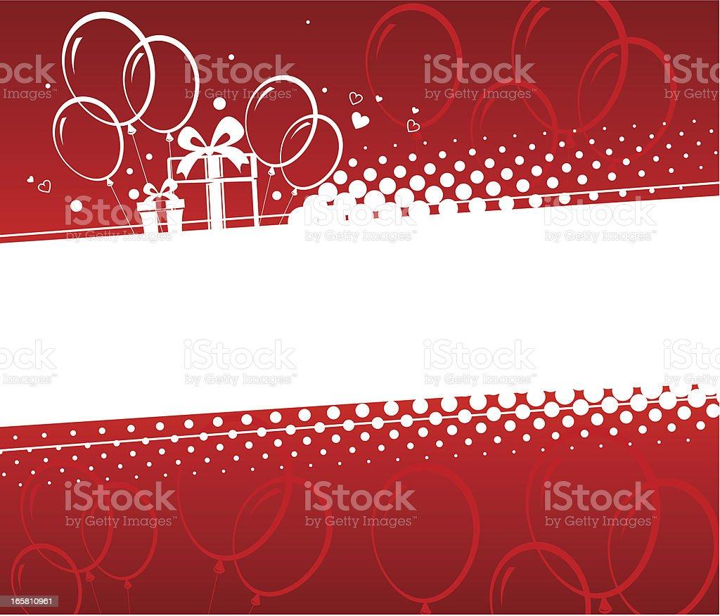 Birthday background royalty-free stock vector art