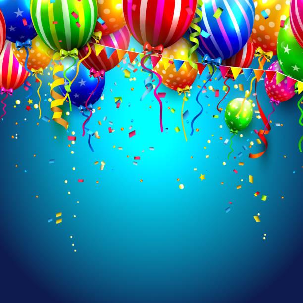 Bекторная иллюстрация День рождения background