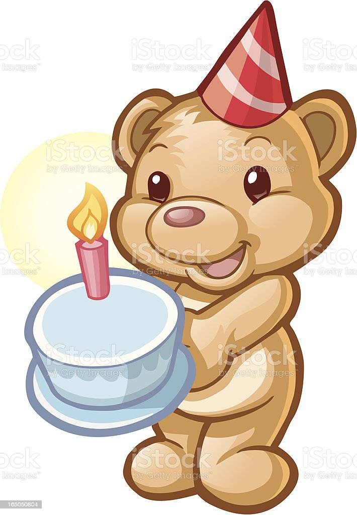 birthday bear royalty-free birthday bear stock vector art & more images of birthday