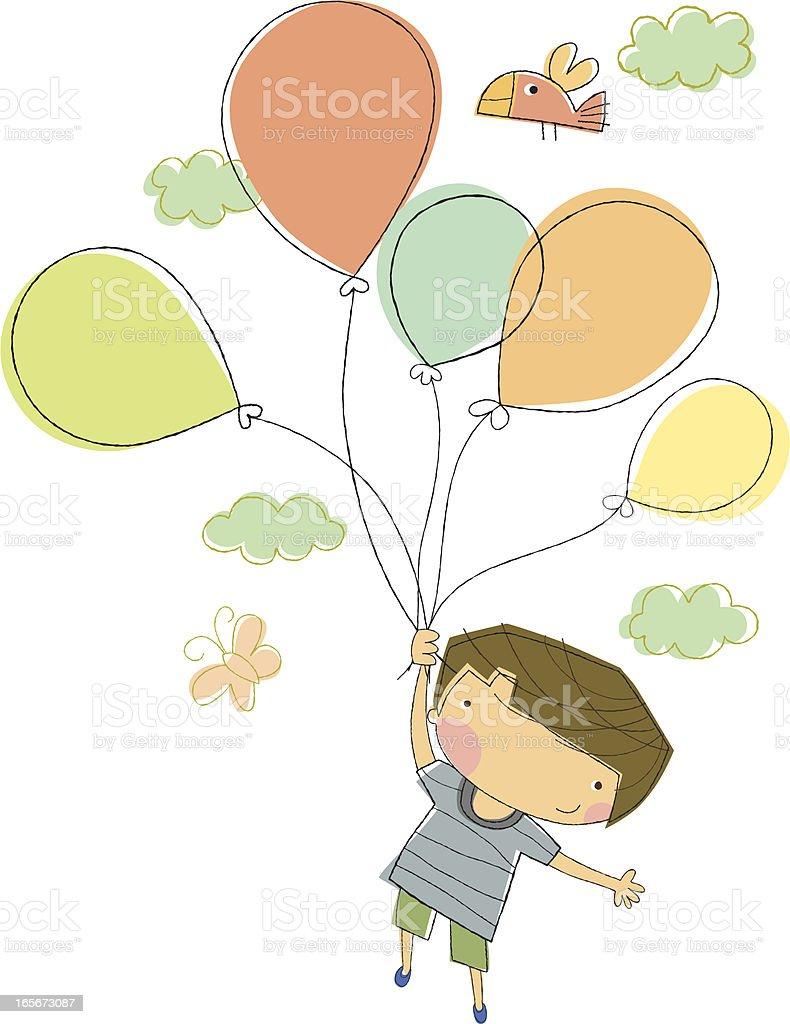 Birthday Boy Celebration royalty-free stock vector art