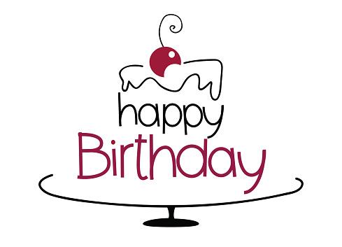 Miraculous Birthday Cake Drawing Stock Illustration Download Image Now Istock Personalised Birthday Cards Veneteletsinfo