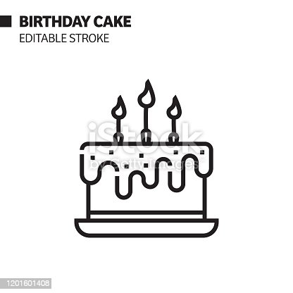 black-white-birthday-cake clipart. Commercial use GIF, JPG, PNG, EPS, SVG,  PDF clipart # 384331 | Graphics Factory