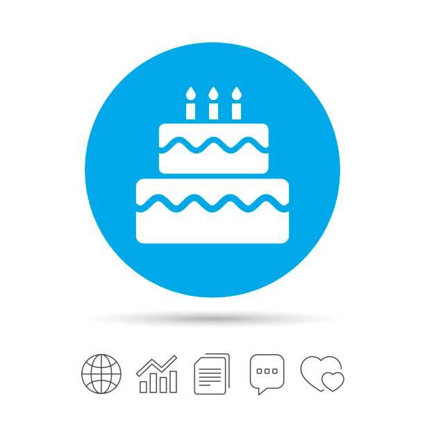 Royalty Free Money Birthday Cake Clip Art Vector Images
