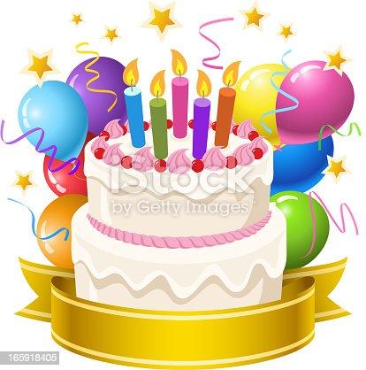 istock Birthday Cake 165918405